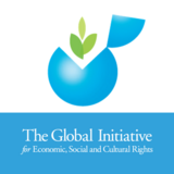 The Global Initiative for Economic, Social and Cultural Rights logo