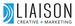 Liaison Creative + Marketing logo