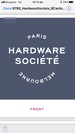 The Hardware Societe logo